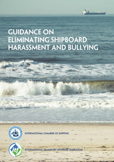 Guidance on eliminating shipboard harassment and bullying