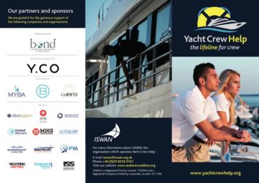 Yacht crew help leaflet
